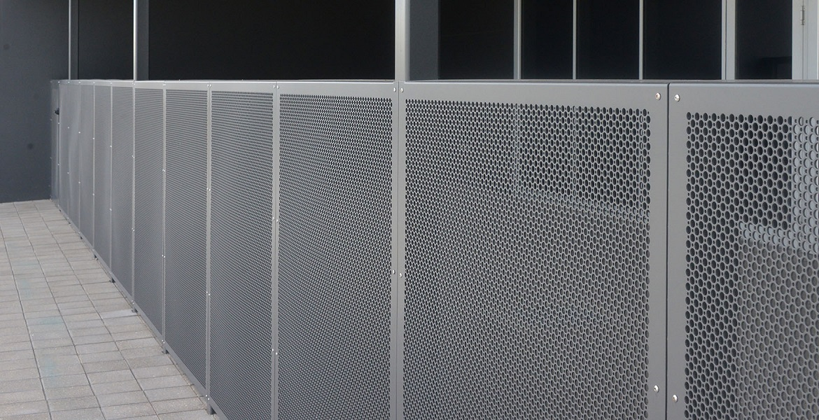Gws Engineers Amp Fabricators Perforated Metal Cladding